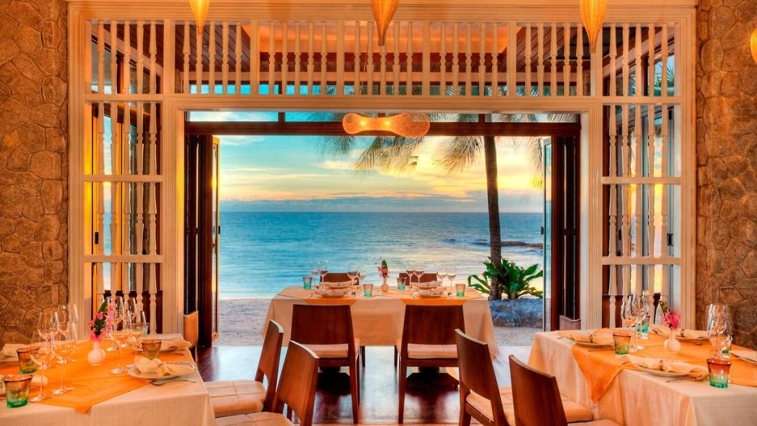 Natai Restaurant Natai Beach Resort Spa Phang Nga Thailand