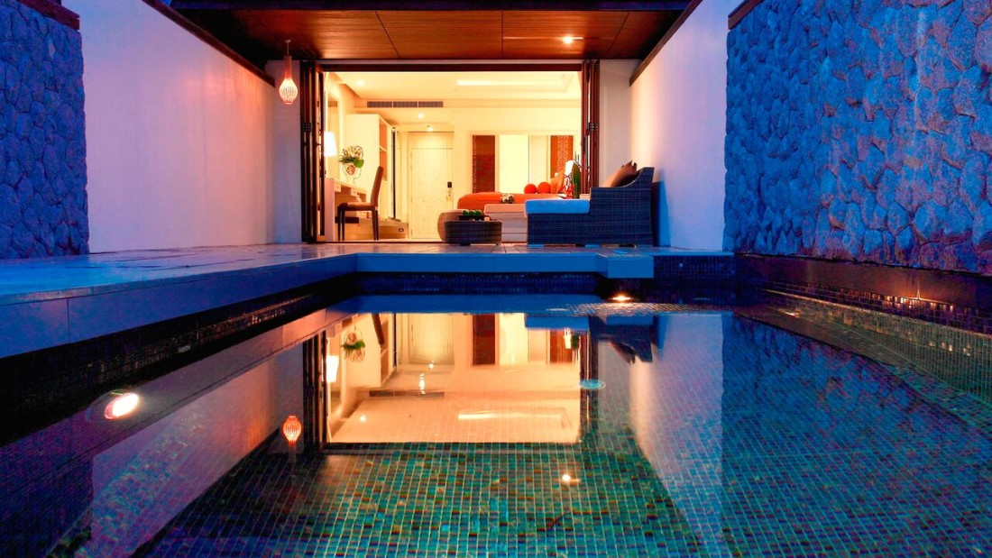 Pool Terrace Room Natai Beach Resort Spa Phang Nga Thailand Thailand Resort q8d9cx