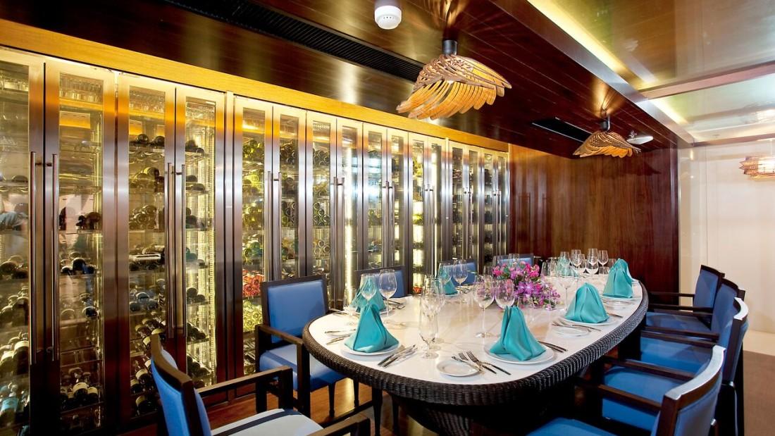 Wine Cellar Natai Beach Resort Spa Phang Nga Thailand