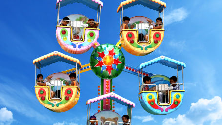 Kiddies wheel