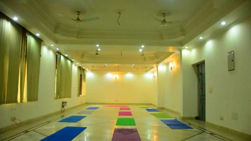 Yoga Hall Hotel Vasundhara Palace Rishikesh Ram Jhula Rishikesh
