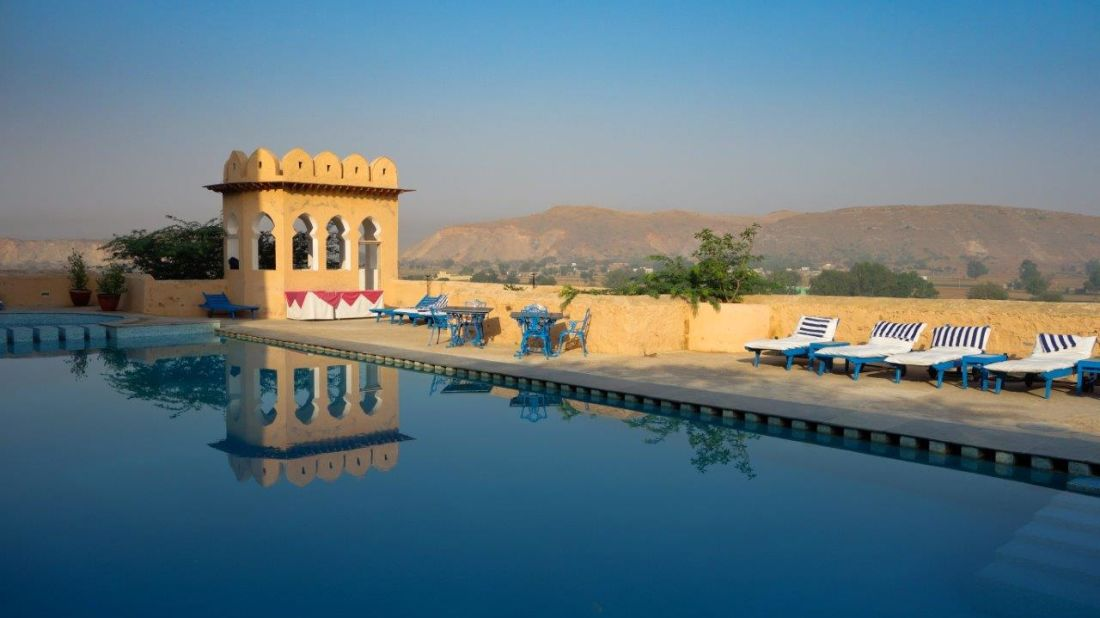 Hill Fort Kesroli - Alwar Kesroli Pool Bar Hotel Hill fort Kesroli AlwaR Rajasthan 1
