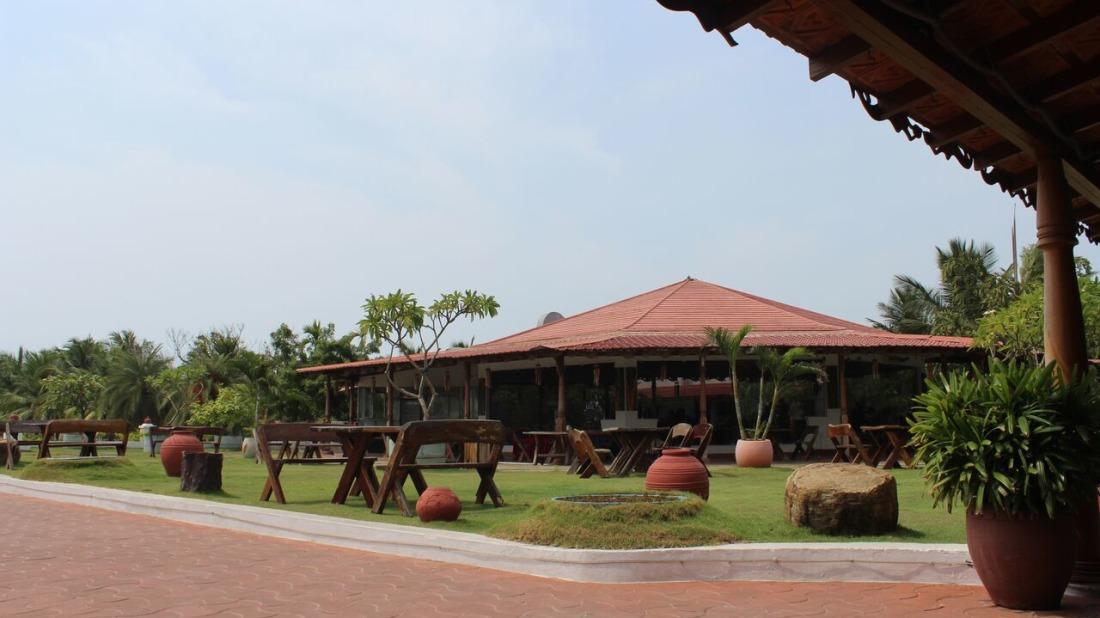 Kapi Restaurant Chariot Beach Resort Mahabalipuram Chennai