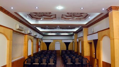 Banquet Hall 1 Hotel Vasundhara Palace Rishikesh Hotel in Rishikesh