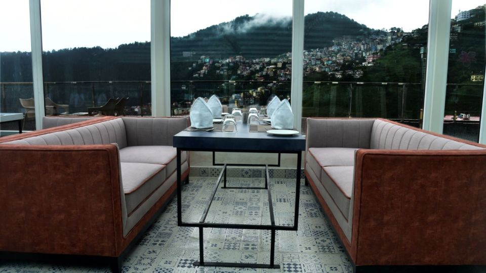 The House of Glass - rooftop restaurant in Shimla