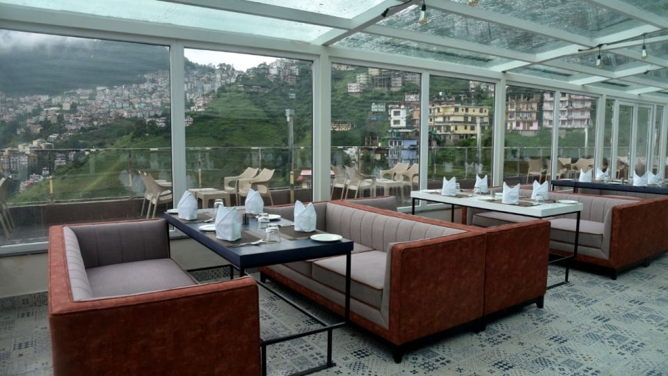 The House of Glass - rooftop restaurant in Shimla 3