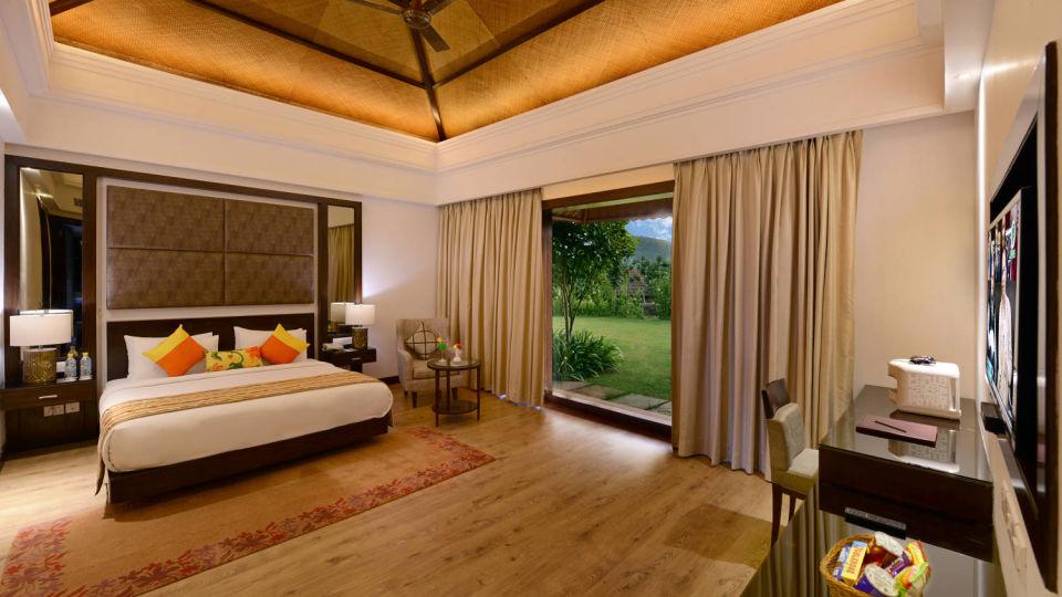 Presidential suite bed room in Udaipur