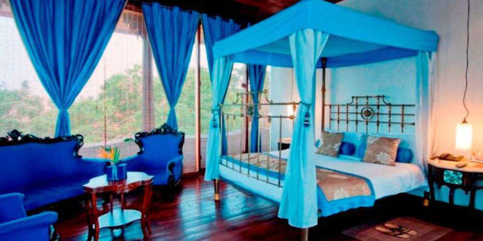 penthouse Room at Le Dupleix Pondicherry 3
