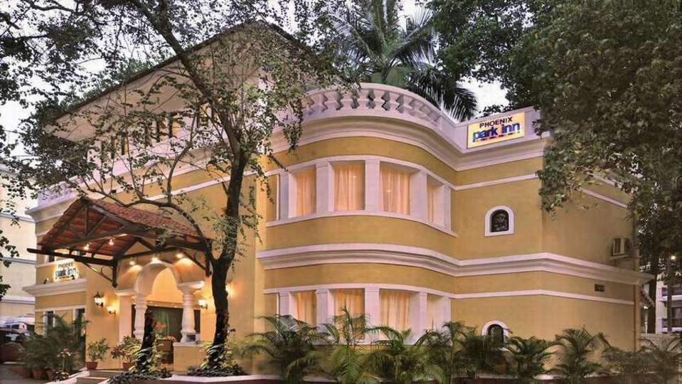 Facade at Phoenix Park Inn, Goa - A Carlson Brand Managed by Sarovar Hotels, resorts in goa 4