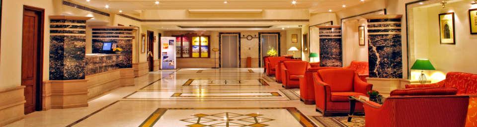 Lobby at Aditya Park Hyderabad, best hotels in ameerpet hyderabad 2
