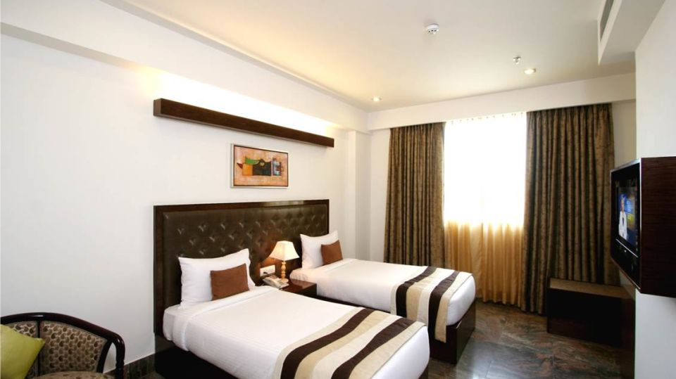 Double Room Taurus Sarovar Portico New Delhi