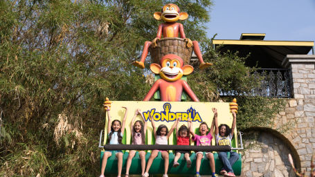 Kids Zone in Wonderla Bengaluru Wonderla Amusement Park, Bangalore Bangalore Park 454120FUNKY MONKEY