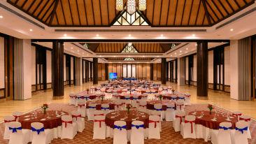 Aravalli Banquet hall at ananta Udaipur best banquet halls in Udaipur 1 dmx4im