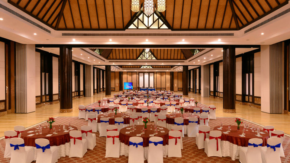 Interior of resorts in Udaipur for wedding