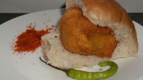 Vada Paav-The Mumbai Burger