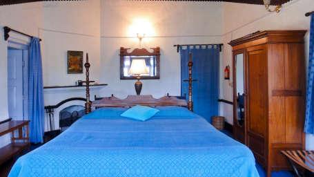 The Ramgarh Bungalows - 19th C, Kumaon Hills Kumaon The Blue Suite The Ramgarh Bungalows Kumaon Hills Uttarakhand