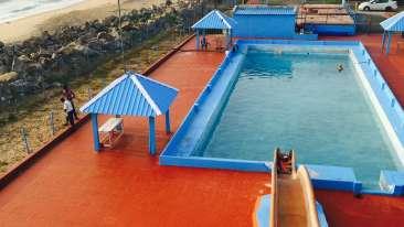 Pool Sai Priya Beach Resort Vizag