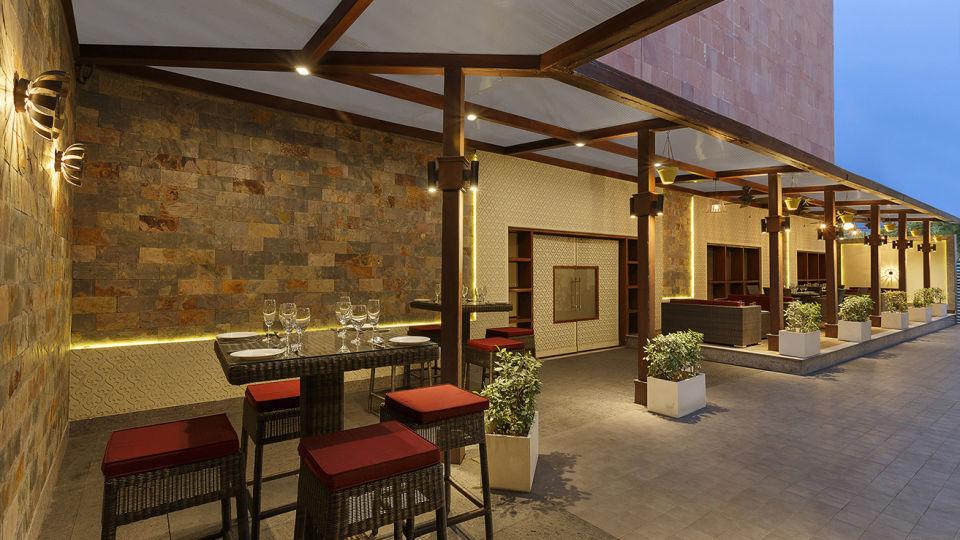 Lounge at Park Plaza Ludhiana 5 Star Hotel in Ludhiana