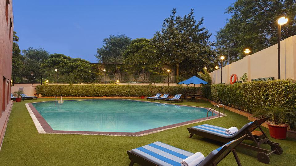 Pool at Park Plaza Ludhiana 5 Star Hotel in Ludhiana
