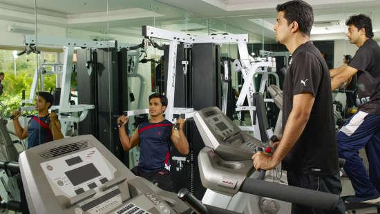 Fitness Centre at Wonderla Resort Bangalore