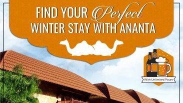 Winter Packges - Ananta Pushkar 2 Nights RSO Jaipur 2