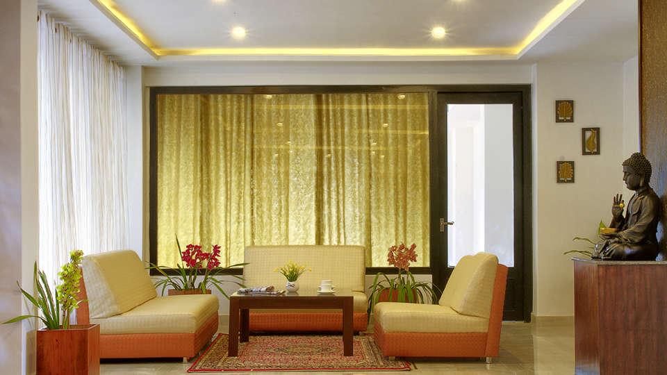 The Royal Oaks Hotel, Gangtok Gangtok Lobby The Royal Oaks Hotel Gangtok