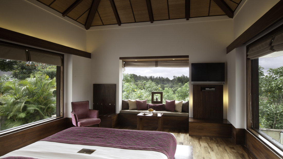 The Terrace Room, The Serai Chikmagalur, Honeymoon Resorts in Chikmagalur 4