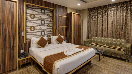 SUPER Deluxe room at The Royal Melange Beacon Ajmer