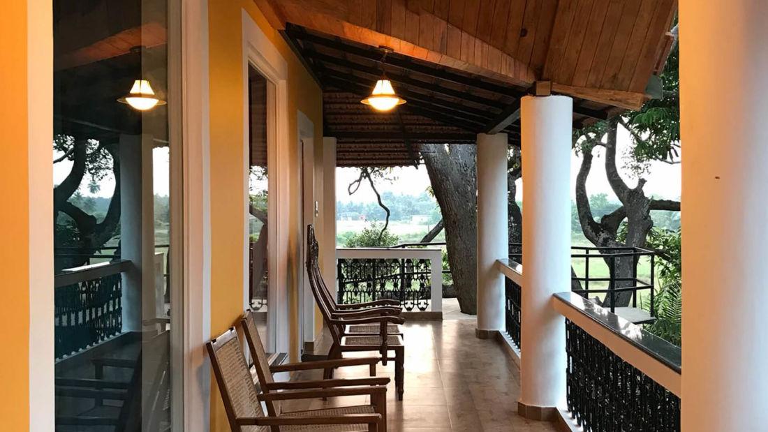 balcony heritage villa