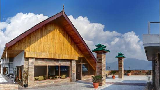 Roof top Summit Sobralia Resort Spa Namchi Hotels in Namchi
