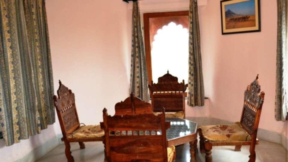 Royal Suite Doube Room with Sitout  at Umaid Lake Palace Hotel Kalakho Dausa Rajasthan