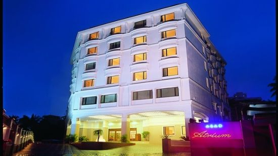 Facade of our hotel in Cochin, Abad Atrium, Cochin-17