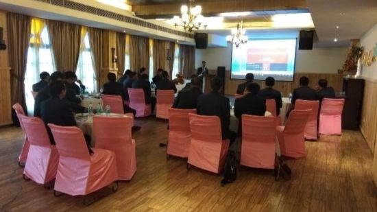 Banquet hall at Hotel Mount View, Banquet Hall in Dalhousie 4