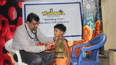 health ngo camp