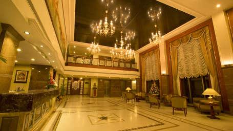The Rialto Hotel Bangalore Plush Interiors