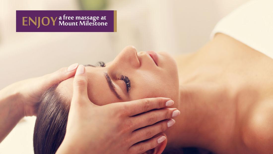 Mount Milestone Free Spa Session