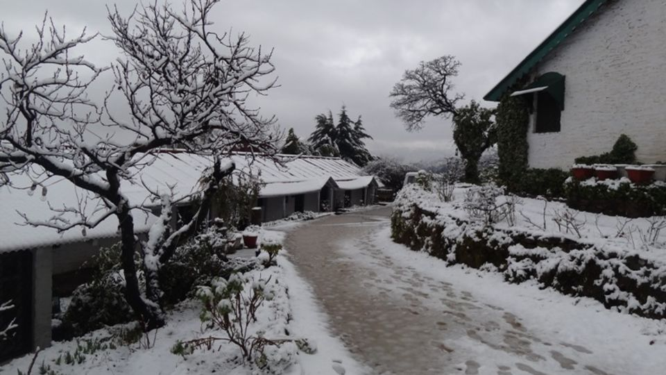 The Ramgarh Bungalows - 19th C, Kumaon Hills Kumaon The Old Bungalow is ready for the Christmas