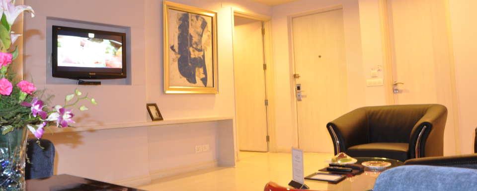 Suite room at Hotel Sarovar Portico Naraina 1