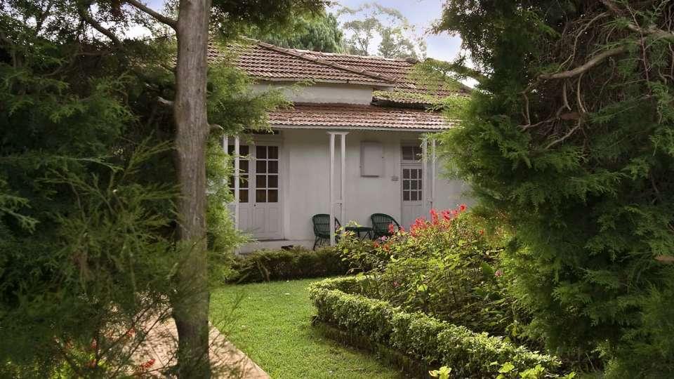 Wallwood Garden - 19th C, Coonoor  Pathway leading garden annexe Wallwood Garden Coonooor Tamil Nadu