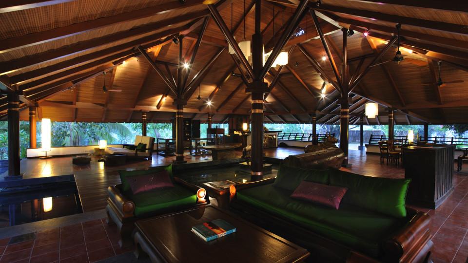 Reception at Niraamaya Surya Samudra Resorts in Kovalam 3
