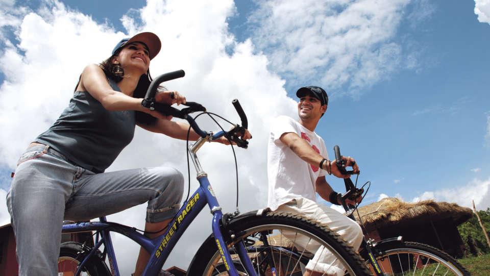 Cycling at Hotel Heritage Resort Coorg Madikeri