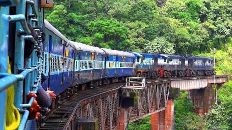 The Nilgiri Toy Train Ride Ooty