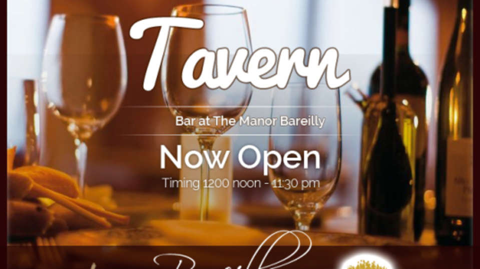 The Manor Bareilly Hotel  Bareilly tavern-bar-at-the-manor-bareilly