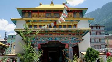 Tibetian Monastery Summit Chandertal Regency Hotel Spa Manali Hotels in Manali