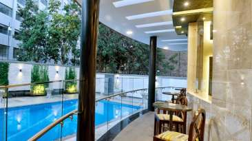 Swimming Pool at Restaurant at The Zehneria Portico Nairobi 5 Star Hotels in Nairobi 3