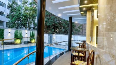 Swimming Pool at Restaurant at The Zehneria Portico Nairobi 5 Star Hotels in Nairobi 3