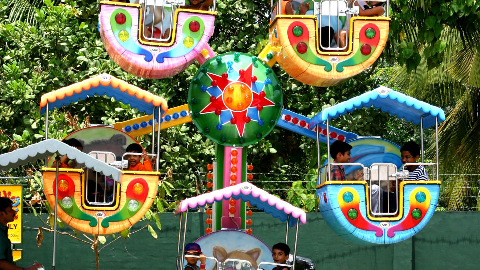 Kids Rides - Kiddies Wheels at  Wonderla Kochi Amusement Park