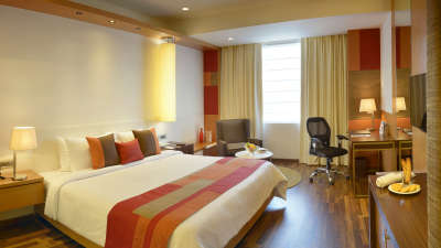 room double The Muse Sarovar Portico Kapashera New Delhi