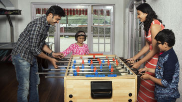 Foosball, The Carlton Hotel,  Hotel near Kodaikanal lake