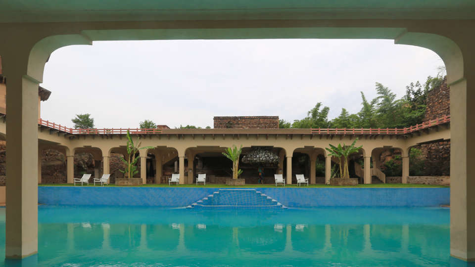 Exterior Hotel_Tijara Fort Palace_Heritage Hotel In Rajasthan 1